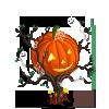 Decorated Halloween Tree-icon