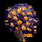 Fire Orange Tree-icon
