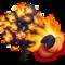 Fire Peach Tree-icon