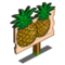 Hilo Pineapple Mastery Sign-icon