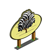 Zebra Stripe Tree Mastery Sign-icon