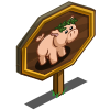 Bacchus Pig Mastery Sign-icon
