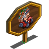 Tractor Pig Mastery Sign-icon