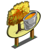 Yellow Maple Tree Mastery Sign-icon