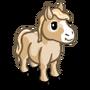 Cream Mini Horse-icon