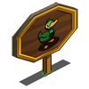 Green Mallard Mastery Sign-icon