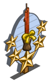 Harvest Candle 5 Star Mastery Sign-icon