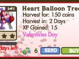 Heart Balloon Tree