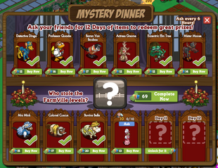 Mystery Dinner Countdown Day 10