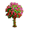 Vibrant Rose Tree-icon