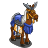 Blue Samurai Horse-icon