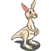 White Kangaroo-icon