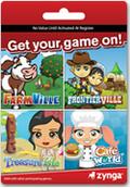 Zynga Game Cards