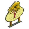 Asian Rosewood Tree Mastery Sign-icon