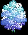 Blue Mystic Cloud Tree2-icon