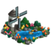 Dutch Pond with Mini Windmill-icon