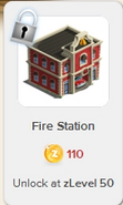 Fire Station Rewardville locked