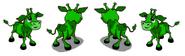 Green Calf Rotate
