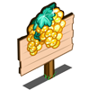 Candied Grapes Mastery Sign-icon