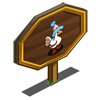 Party Chicken Mastery Sign-icon