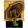 Piggyback Bear Mastery Sign-icon