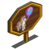 4th Birthday Bedazzled Foal Mastery Sign-icon