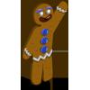 Gingerbread Man-icon