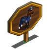 NYPD Horse Mastery Sign-icon