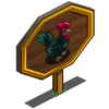Australorp Rooster Mastery Sign-icon