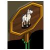Cream Stallion Mastery Sign-icon