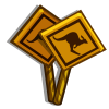 Roo Xing Sign-icon