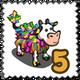 Fetti Cow Stamp-icon