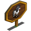 Metal Hair Horse Mastery Sign-icon