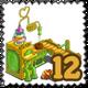 Plum Cake Machine Stamp-icon