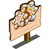 Gingerbread Bloom Mastery Sign-icon