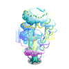 Holiday Cloud Tree-icon