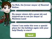 Mistletoe Lane Chapter 3 Quest Notification