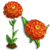 Orange Zinnia-icon