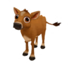 Baby Jersey Cow