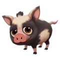 Baby Black Spotted Ossabaw Hog.png