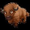 Brown American Buffalo
