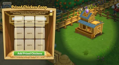Prized Chicken Coop working