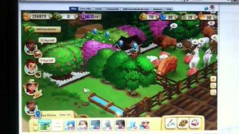 FarmVille 2 Tree Grove Fertilizing + Watering Trick