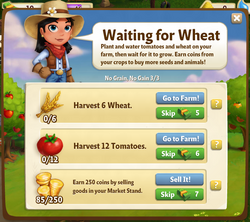 Waiting for Wheat
