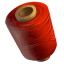 Red Yarn Spindle