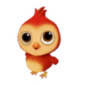 Baby Rhode Island Red Chicken.png