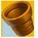 Orange Clay Pot