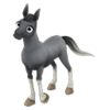 Baby Blue Roan Horse