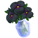 Black Pansy Bouquet
