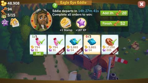 Eddie order